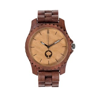 Plantwear – URBAN SERIES – MASSARANDUBA WOOD TIMBER WRIST WATCH