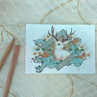 <Animals in the secret land>>As the Deer