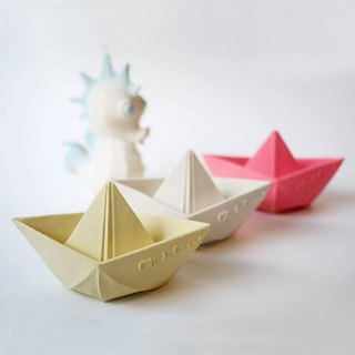 Goody Bag - Spain Oli & Carol – Origami Boat - Pink / Yellow / White 3 into the group