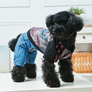 Pet clothes sports and leisure clothing