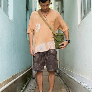"EARTH.er  │ ●  ""GUARANTEED"" Natural Tie-Dye Shorts - Ebony ●│"