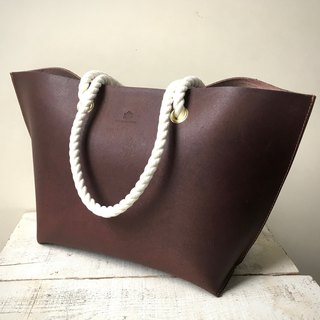 JAPAN Tochigi Leather Floor Leather Tote Bag mare M Bitter Brown