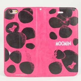"Moomin Moomin genuine authority - Magnetic phone holster: [Rock Moomin (Rose)} ""iPhone / Samsung / HTC / ASUS / Sony"""