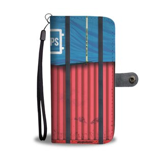 Air Drop Containers Premium Wallet Phone Case