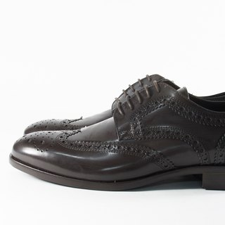 ITA BOTTEGA [Made in Italy] Derby carved gentleman shoes