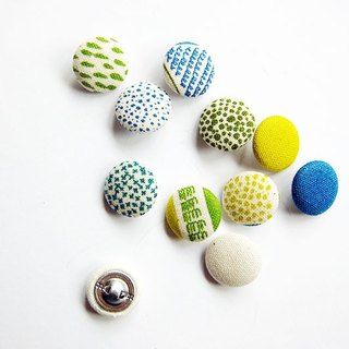 Knitting sewing cloth button buttons color geometric handmade material