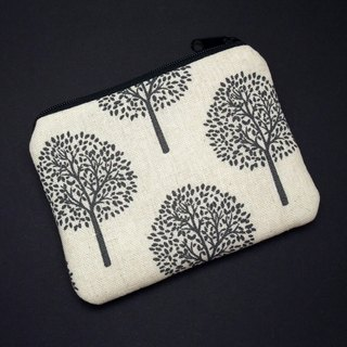 Zipper pouch / coin purse (padded) (ZS-224)