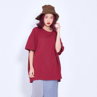 Corsage Air Sensation Cotton Big T / Red Taiwandesign