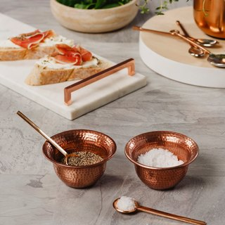 (UK) Copper Condiment Set (Set of 2) - The Just Slate Company