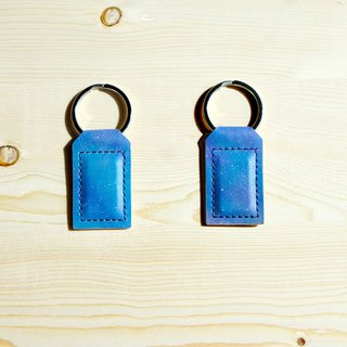 Sanku - Leather Handmade - Magnet Keyring - Starry