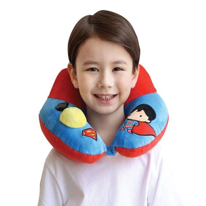 Justice League 正義聯盟 3D 專利按壓式充氣頸枕- 超人版