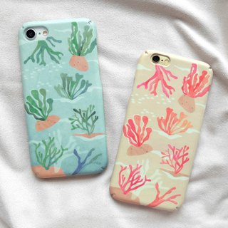Pink Corals iPhone case
