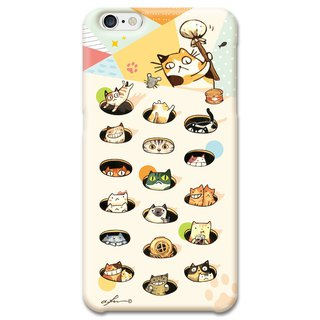 (Spot) afu illustration mobile phone shell - iPhone6 ​​plus / 6s plus - Comet people knock on daily