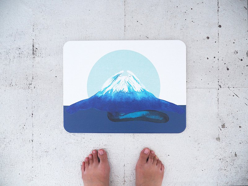 Diatomaceous earth mat/bathroom mat/Mount Fuji/cat/whale/diatomaceous earth/diatomaceous earth/housewarming gift/moving ceremony