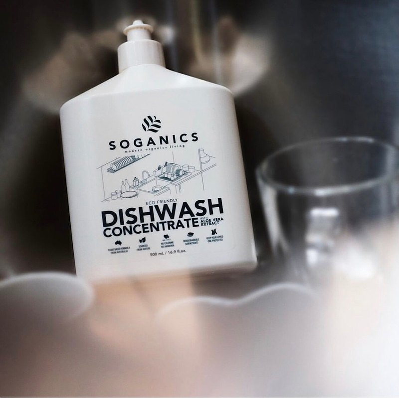 SOGANICS 草之淨 天然有機 碗盤清潔劑