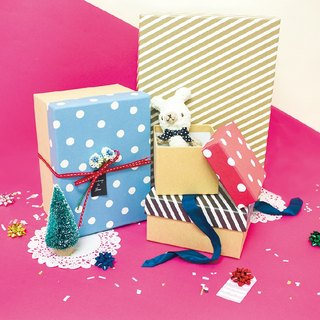 Boge stationery x geometric wind series [gift box L] four colors
