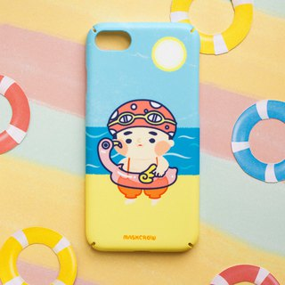 Chubby boy phone case / Hard shell case / ios & android