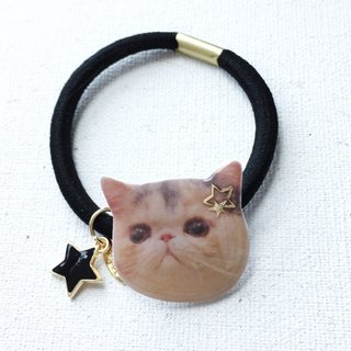Exotic Cat Star Jojo Handmade 2 ways Elastic  & Bracelet