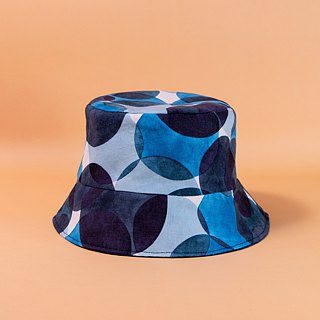 [The MAMA's Closet] blue bubble-sided hat