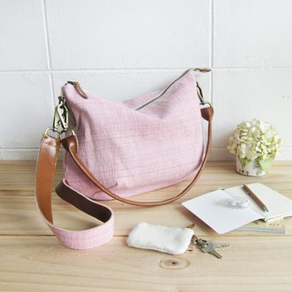Cross-body Sweet Journey Bags M size Hand Woven and Botanical Dyed Cotton