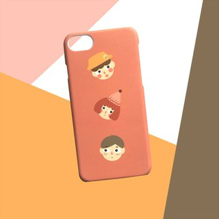 Pink three brothers phone case