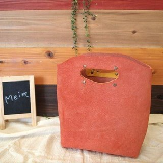 [MTO] floor leather EP record [red] bag 1520002 [S]