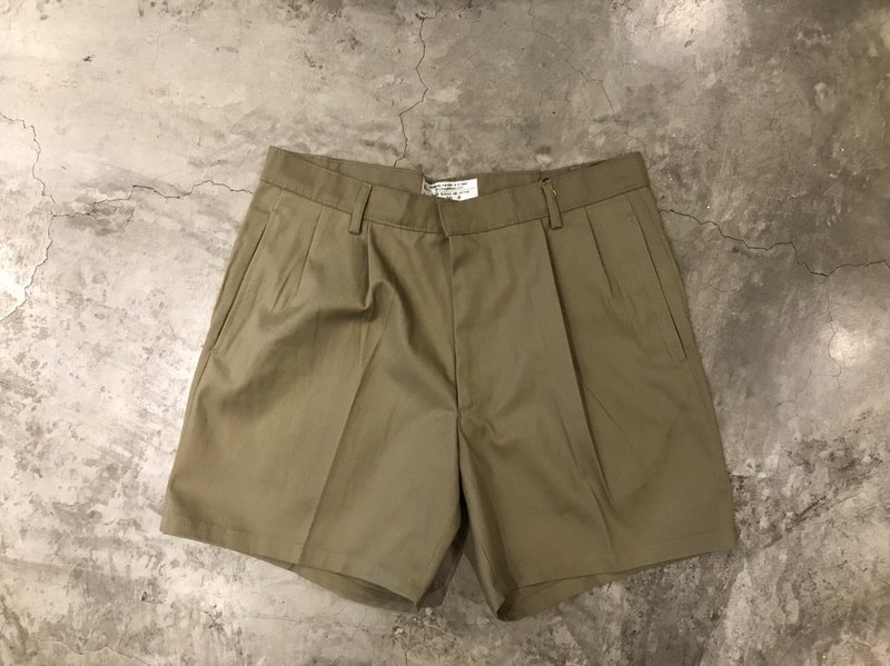 British khaki shorts
