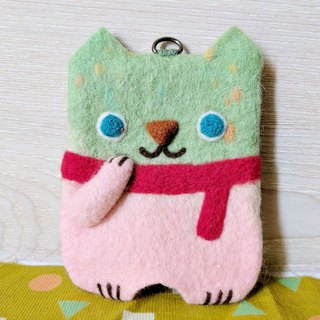 Sheep blankets ticket clip (pass case) ─ Fantasy Cat No. 1 (Randy)