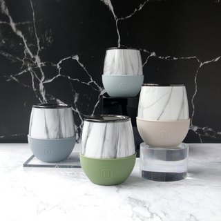 Morandi color system | American HYDY double layer insulation mug | Marble pattern-4 into the group