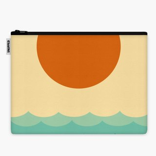 SpaceSuit - Document Pouch - Geometric landscape