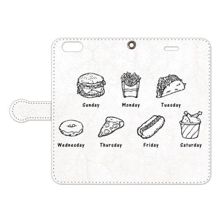 Handbook type iPhone case / Junk Food Week