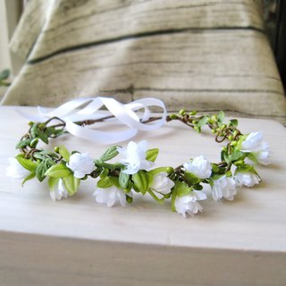 Bridal Corolla European Pastoral Wind Wreath