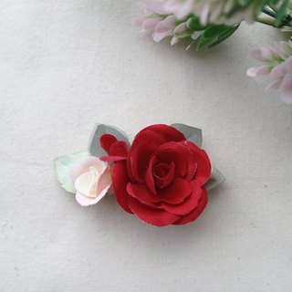 Elegant Gorgeous Camellia Fabric Flower Hair Accessories, Gift for Her HF019