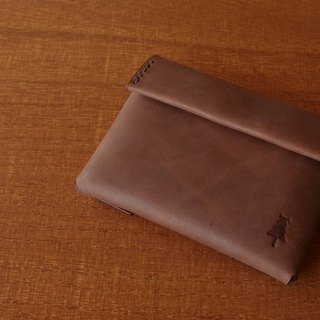 【受注生産】compact wallet  #antique brown