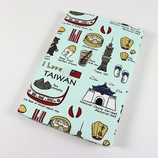 Cloth Book Cloth Book - Taiwan Characteristics (Green)