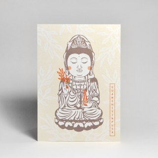 Illustration design postcard - Guan Yin Bo (mail postcards)