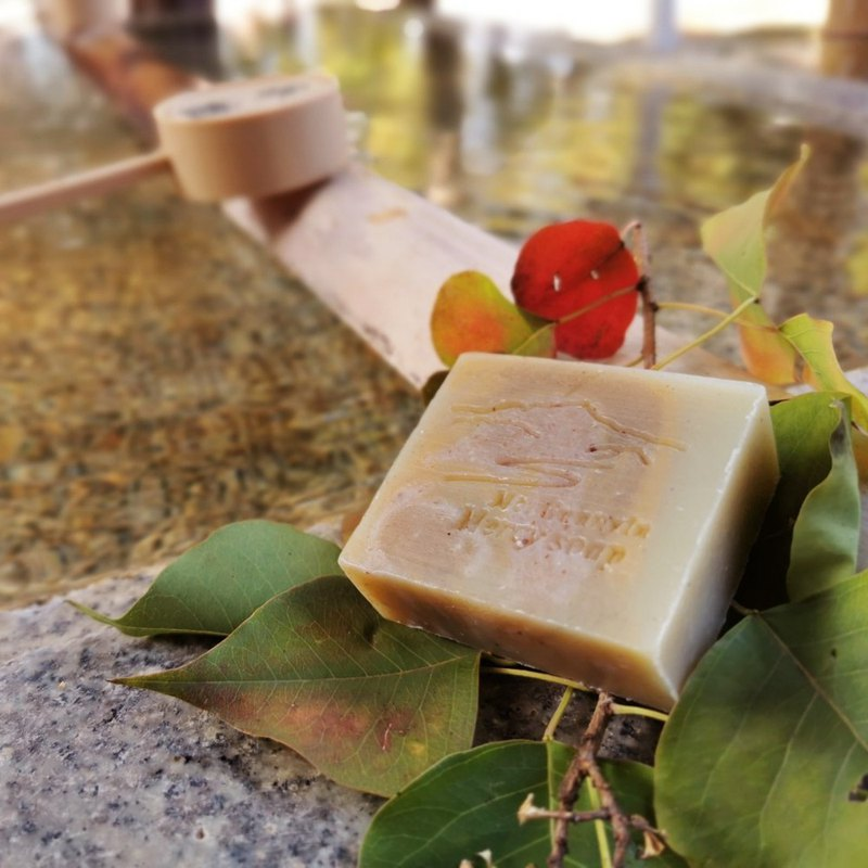 Guanhe soap river mud organic camellia oil soap ///single