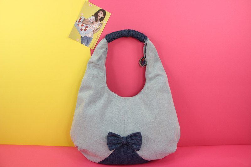Kind Disposition Denim Handbag