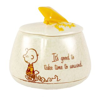 Snoopy Ceramics Collection Box - Kite [Hallmark-Peanuts Snoopy Decoration]