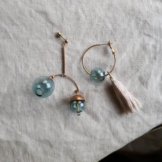 Soul_planet track earrings