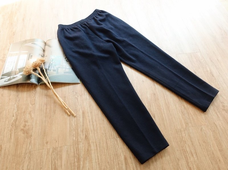 Vintage under / wool trousers no.104