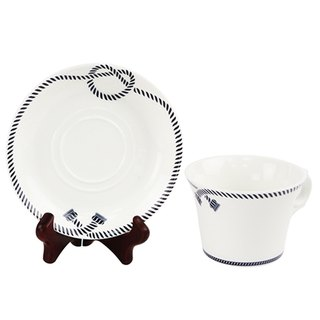 Engels Co. Double-Knot Coffee Cup/Saucer set