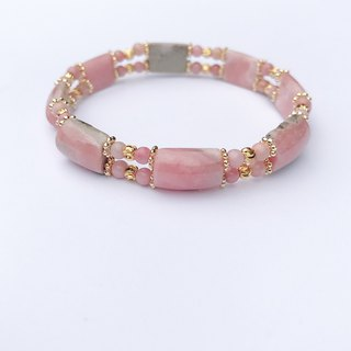 【Lost And Find】Natural Rhodochrosite bracelet