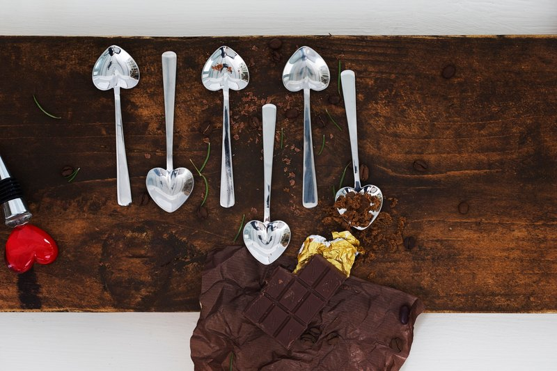 UK - Heart Spoons(Set of 6) -  The Just Slate Company