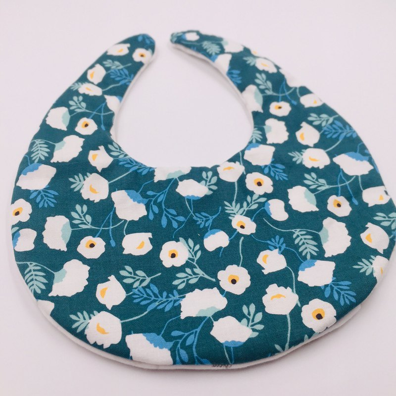 Frangipani bib set in the forest