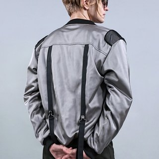 Metal ash MA-1 flight jacket