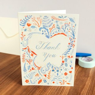 Thank You card-with envelope