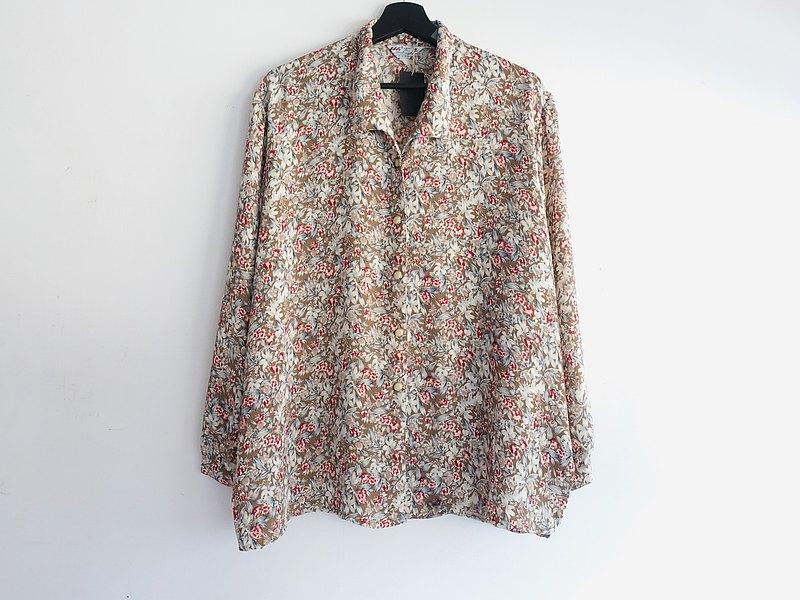 Awhile一時 | Vintage 長袖襯衫 no.322