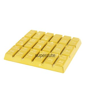 Gold coasters / gold bars coasters
