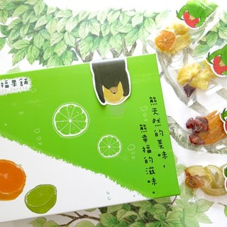 Happiness Fruit Shop - Fruit Dry Cold Drinking Gift Box (Bottle / Supplement)